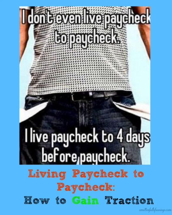 living paycheck to paycheck, how to stop living paycheck to paycheck