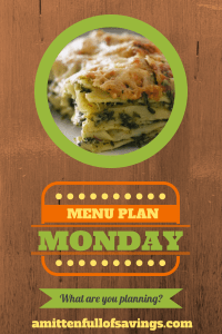 meal planning, menu planning, monday meal planning