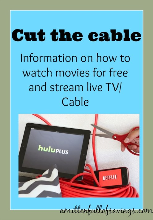 cut the cord, how to watch tv for free, stream cable for free, stream live tv for free, how to save on cable