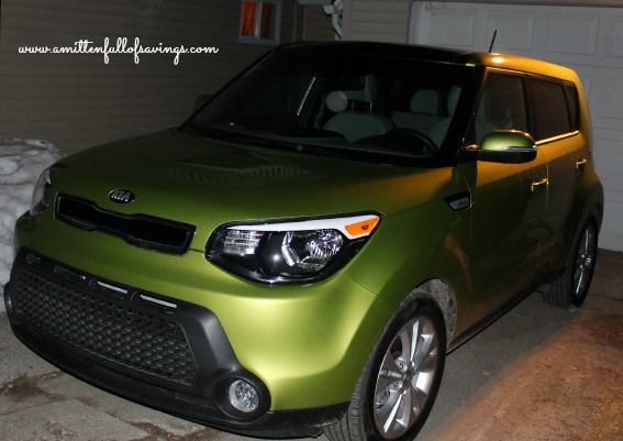 kia soul at night