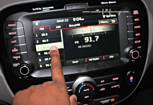 touch screen media system