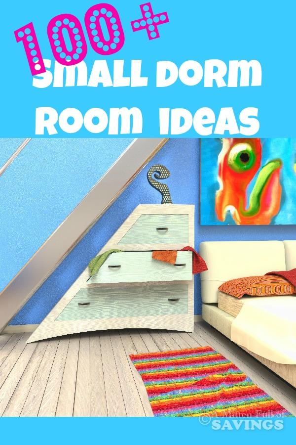 Small Dorm Room Ideas: 100+ Small Dorm Room Decor Ideas