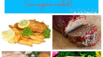 Meijer Meal Planning Week 8/24: 7 Meals Under $60