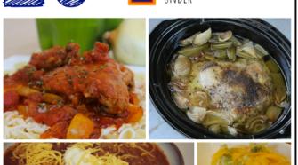aldi meal planning slow cooker meals under $150