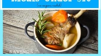 meijer meal planning week 2 gluten meals under 70