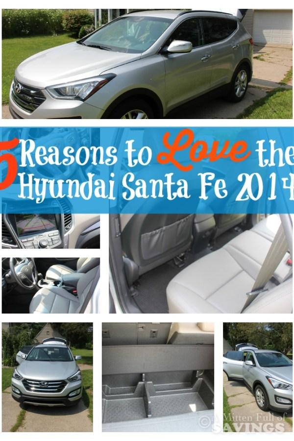 5 Reasons to Love the Hyundai Santa Fe 2014