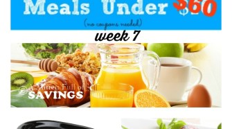 Meijer Meal Planning 7 Gluten Free Meals Under $60