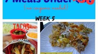 meijer meal planning week 5 7 meals under 50 bucks