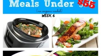 Meijer Meal Planning Week 9/14: 7 Gluten Free Meals Under $55
