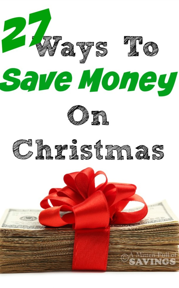 With Christmas coming up quickly, there's always a few last minute ways to save money! We have just a few months before Christmas, and we have several ways to save. These tips will help you do just that- 27 ways to save money on Christmas