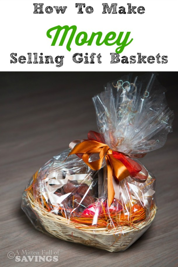 Did you know that you can make money by selling Gift Baskets? It's a great way to earn some extra cash on the side!