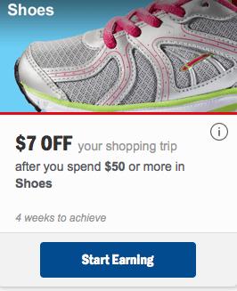 shoe personalized mperk reward