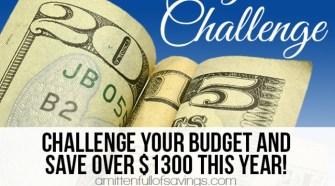 52 week challenge, money savings tips, how to save on seasonings