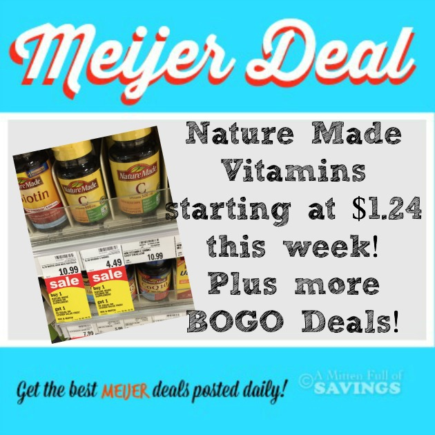 nature deal meijer vitamins week low vitamin