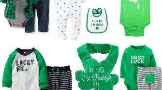 10 Adorable St Paddy's Day Clothes & Accessories for Baby Boys