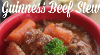 Get your St. Patrick's Day party on with this fabulous and easy recipe- Easy Recipe for Guinness Beef Stew