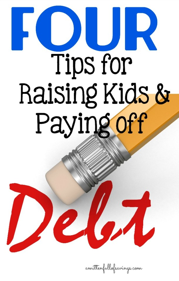 Having kids and paying off debt at the same time can be quite tricky! In this Debt relief series, get Tips for Raising Kids & Paying off Debt