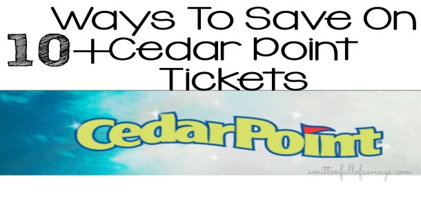 Buy Your Cedar Point Tickets At Meijer