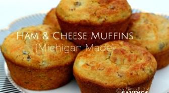 Ham & Cheese Muffins Michigan Made Recipe