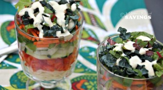 Mini 7 Layer Pasta Salad Recipe