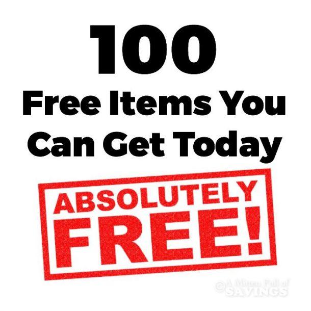 100 Free Items You Can Get Today