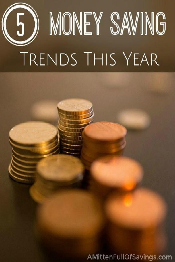 Money Saving Trends This Year