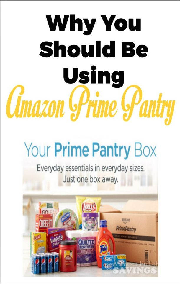 Why You Should Be Using Amazon Prime Pantry Service