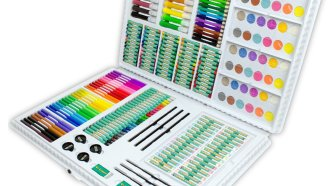 Royal Brush Manufacturing Company Art Adventure 253-Piece Art Set