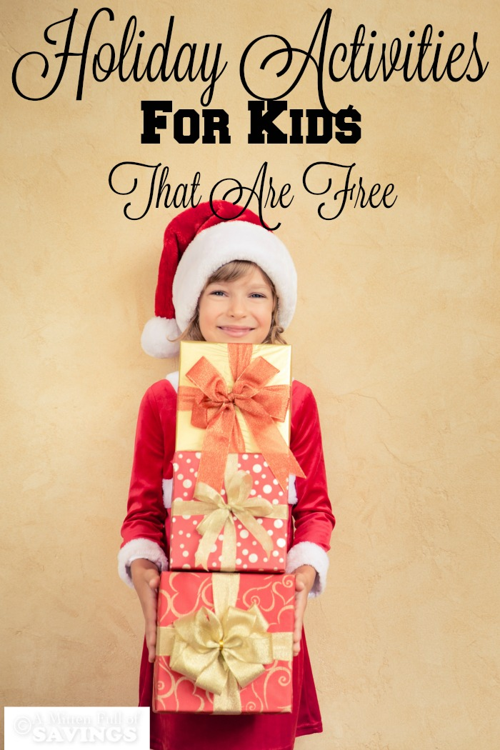 Holiday Activities For Kids That Are Free