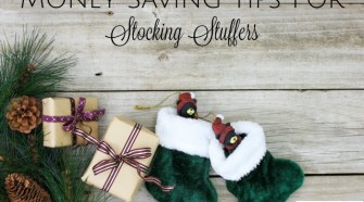 Money Saving Tips For Stocking Stuffers