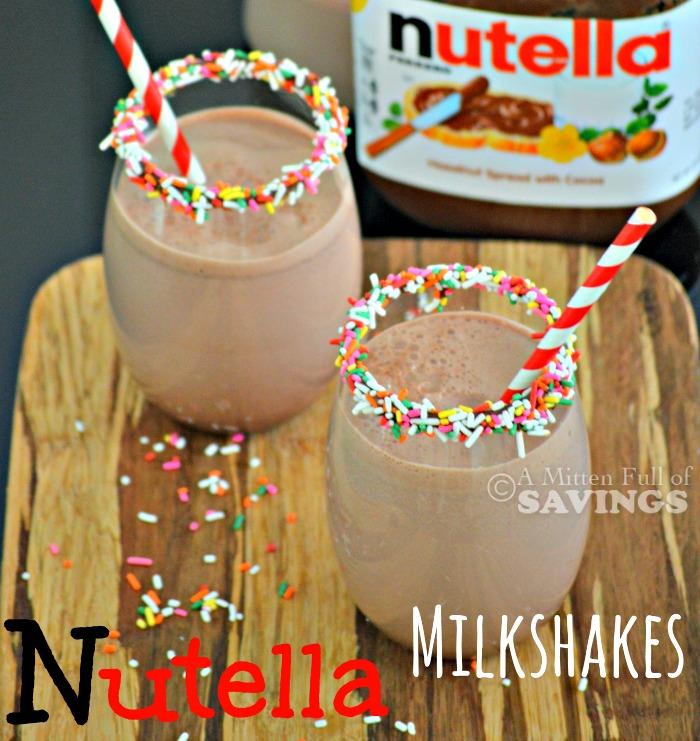 Easy Nutella Recipe: Make your own Nutella Milkshakes