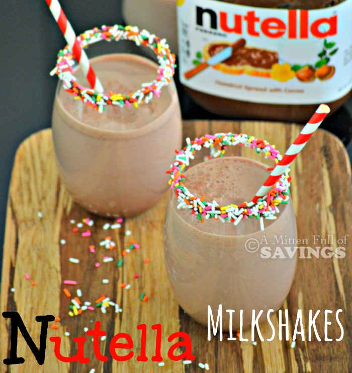 Easy Nutella Recipe: Make your own Nutella Milkshakes