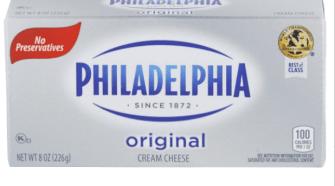 Meijer Philadelphia cream cheese $1