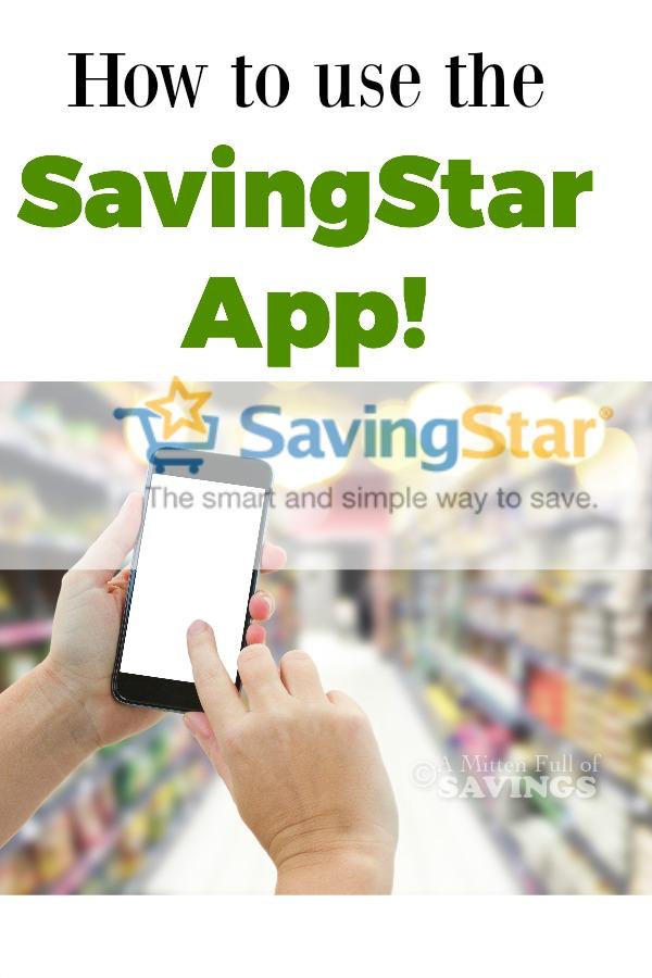 How To Use the Savingstar App