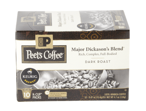 graphic about Peet Coffee Printable Coupon named Meijer Package deal: Ranking Peets Espresso K-Cups for merely $3.99