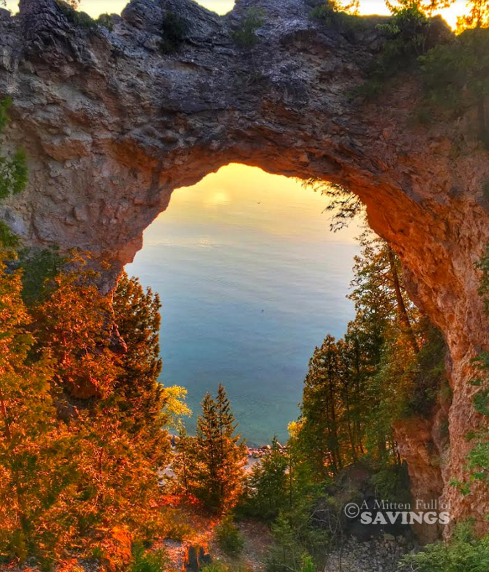 best locations for sunrise on Mackinac Island