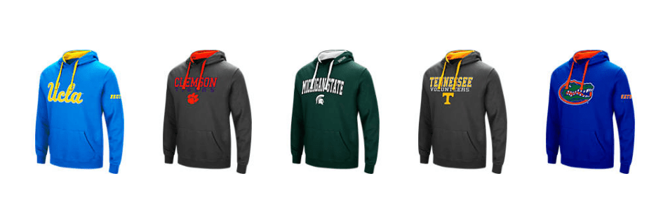 Get College Hooded Sweatshirts for $20 Shipped!