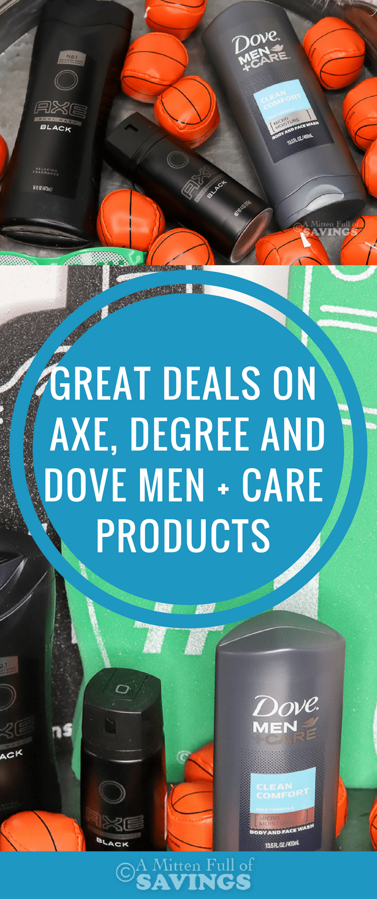 See how you can score some great deals on AXE, Degree and Dove Men + Care Grooming products at Target right now.