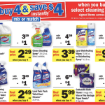 Buy 4 save 4 household sale