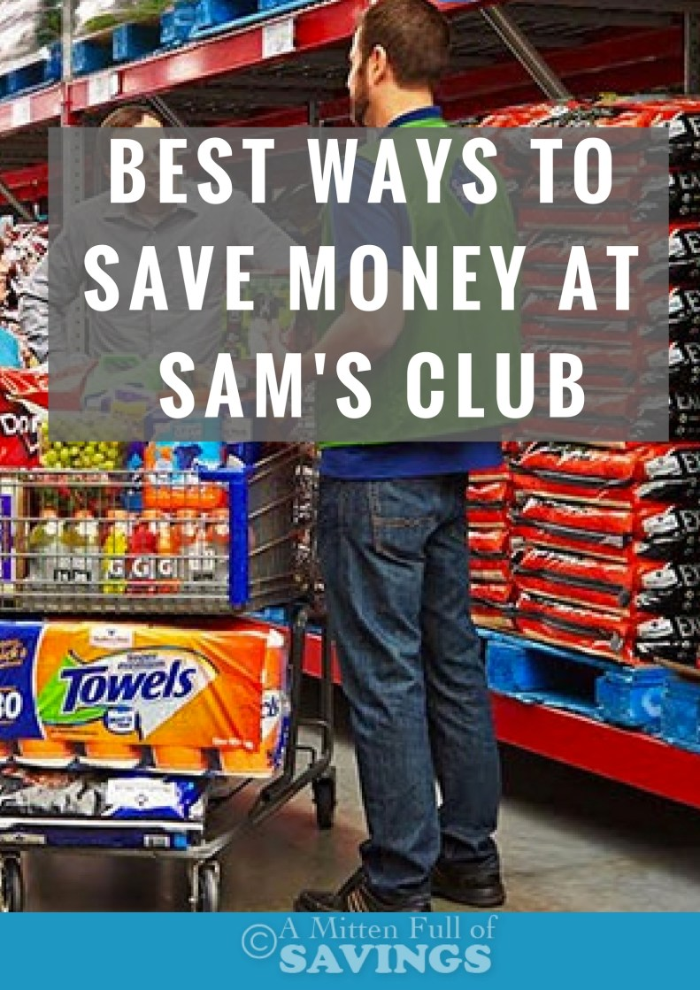 Shopping in bulk is a great way to save money! I love shopping at Sam's Club, and over the years have found ways to save and get the most bang for my buck. I'm sharing some of my best ways to save money at Sam's Club!