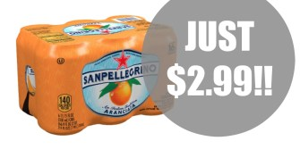 RARE coupon for Sanpellegrino + Meijer Deal