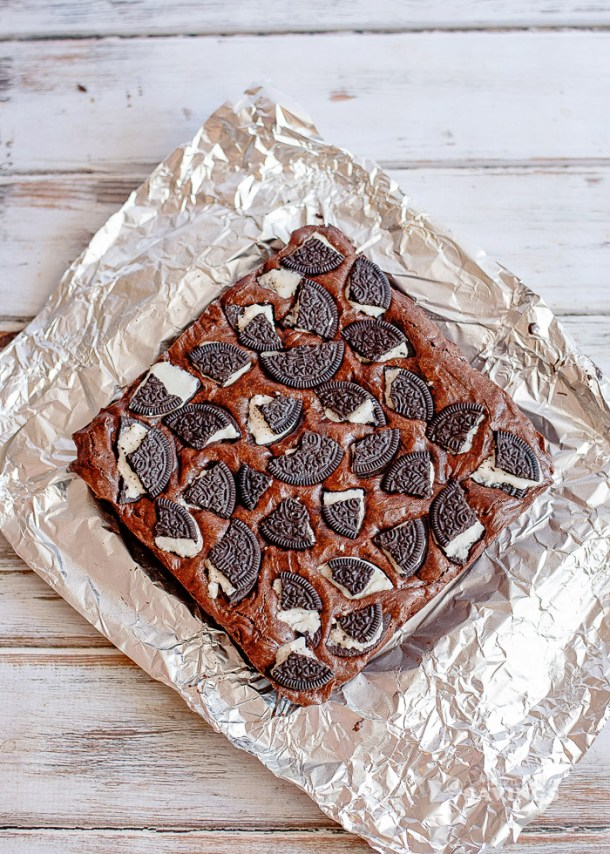 Easy Oreo Brownie recipe