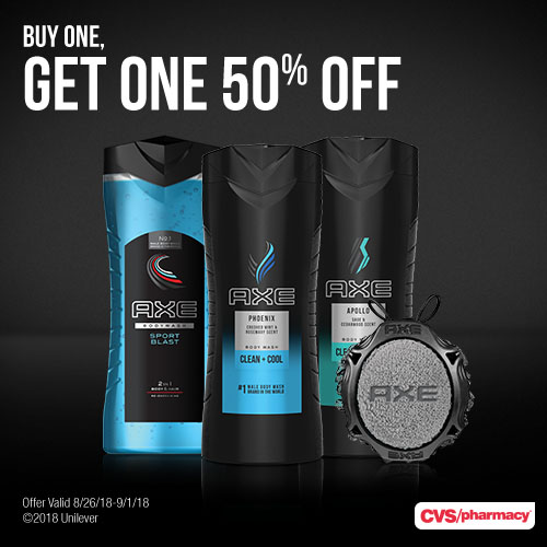 AXE deal at CVS this week