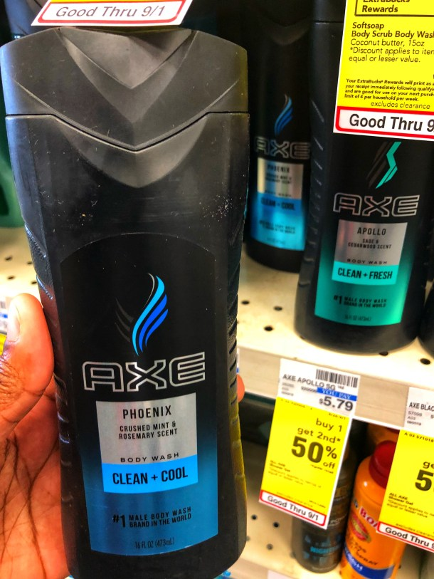AXE bodywash deal at CVS