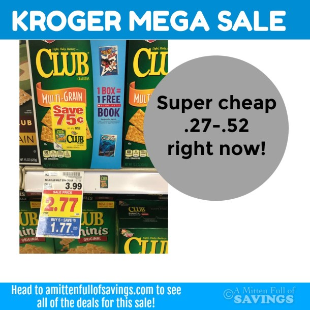 Kroger MEGA: Keebler Town House Crackers SUPER CHEAP!