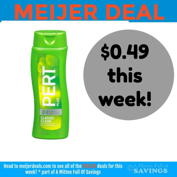Meijer: Grab Pert Plus for only .49 cents this week