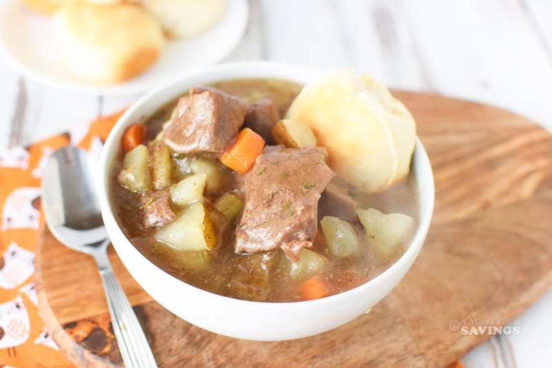Directions for Instant Pot Beef Stew