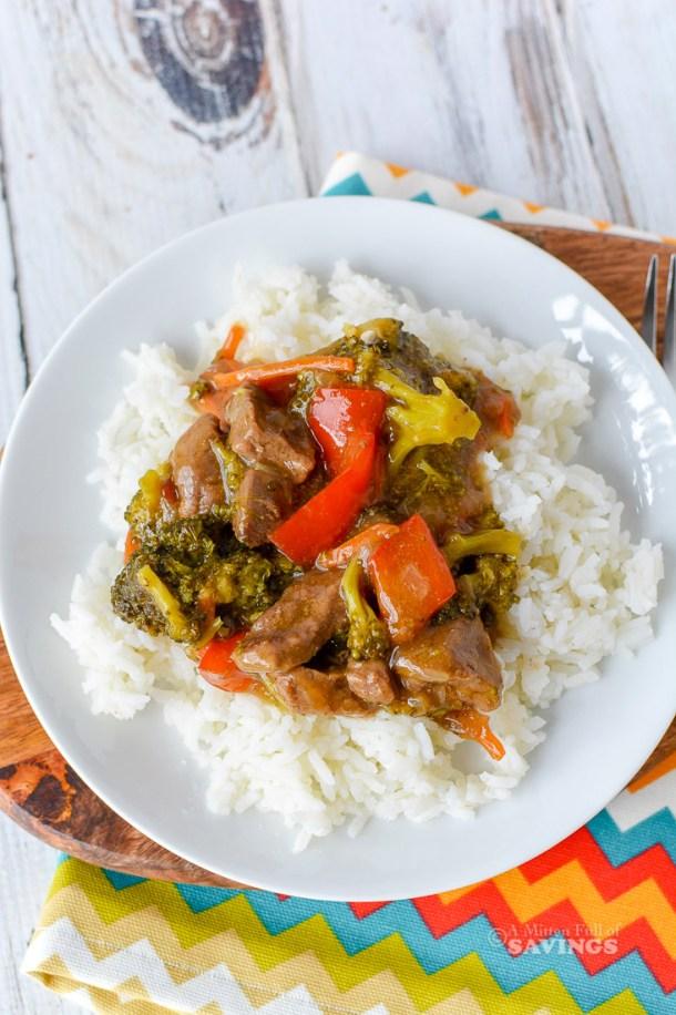 Instant Pot Teriyaki Beef Stir Fry