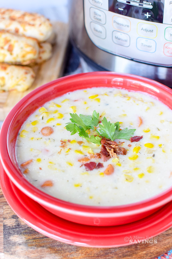 Directions for Corn Chowder Soup