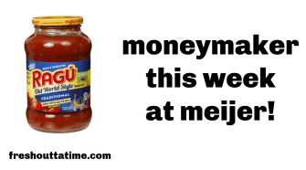 ragu moneymaker deal at Meijer